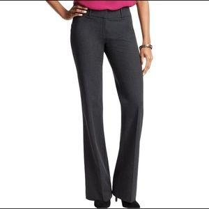 Loft Julie NWOT charcoal gray trousers size 6